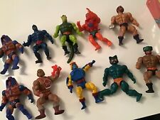 motu he man master of the universe vintage lot