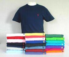Ralph Lauren Men's Crew Neck Short Sleeve Classic Cotton T- Shirt