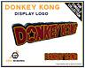 Display DONKEY KONG Logo Déco pour Collection de Jeux et Figurines Nintendo Geek