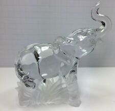 Lenox Crystal Elephant Standing 7 Inches Tall