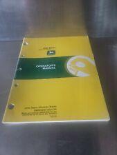 John Deere 348 468 466 467 336 347 Baler Operator's Manual