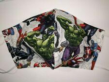 Marvel Comics Avengers #3 Hulk Spider-Man Iron Man Thor Face Mask Adult Large