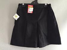 BNWT Older Girls Smart Black Stubbies Sz 10 School Uniform Skort Style Culottes