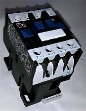 ac contactor 12 amp 5.5kw 3 pole  240 volt coil with 1 N/O  auxiliary New!!!!