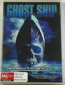 Ghost Ship (DVD) Horror Rare Gabriel Byrne PAL Region 4 Free Postage