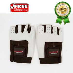 Outbak Leather Gym Glove Weight Lifting Training