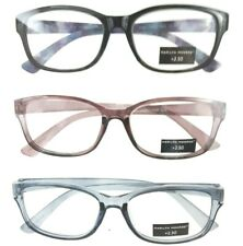 Marilyn Monroe Fashion Readers 3 Pack Reading Glasses +2.50 Multi Color Designer