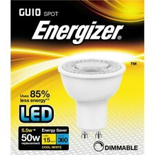 Energizer LED Gu10 Cool White 360lm 4000k Dimable, 5.5w