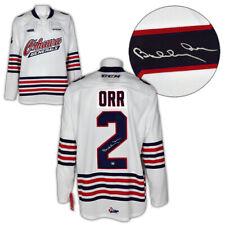 Bobby Orr Oshawa generales CHL Hockey Jersey Autografiada ccm premier: GNR cert. de autenticidad