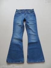Levi's® 544 Flare Schlag Jeans Hose, W 27 /L 32, wie NEU ! Flower Power Denim !