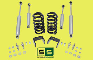 "1973 - 1987 Chevrolet Chevy GMC C10 C15 3"" / 5"" Lowering Drop Kit 3/5 + Shocks"