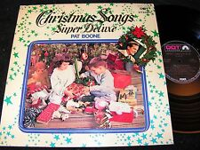 Pat Boone Christmas canzoni Super Deluxe/Giappone LP Dot Records swx-10034