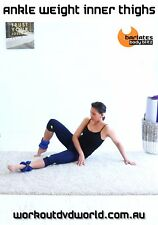Pilates Toning EXERCISE DVD - Barlates Body Blitz ANKLE WEIGHT INNER THIGHS!