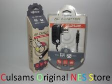 AC Power Adapter Charger & AV Audio/Video Cables for Sega Genesis 2/ Genesis 3