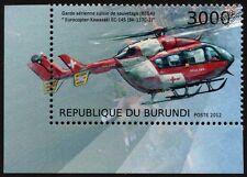 MBB / Kawasaki bk-117 rega Swiss Air Ambulance Hélicoptère EC145 TIMBRE AVION N ° 2
