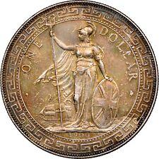 1900 B Great Britain Silver Trade Dollar - NGC AU Details