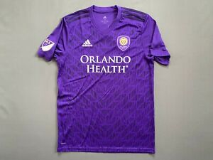 Orlando City Jersey Home Shirt Size M Football Adidas DP4790