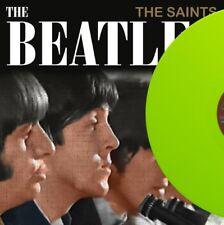 """THE BEATLES - THE SAINTS - Lime Vinyl 12"""" Record Album LP, LIMITED 210 copies"""