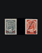 Vintage:Colombia 1928 Og Nh Scott C51-52 $275 Est Nh Lot# Col1928K