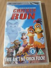 CHICKEN RUN SONY PSP UMD FILM. REGION 2. BRAND NEW FACTORY SEALED