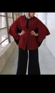Embroidered  Palestinian Jordanian cape Arabic Dress