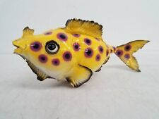 """Signed 1994 JuGfiSH Sculpture by Anthony Benning 15""""x7""""x6"""""""