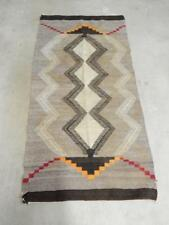 VINTAGE NAVAJO INDIAN  CRYSTAL TRADING POST AREA RUG  - XLNT DSGN - - CLASSIC+NR