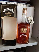Jack Daniel's Whiskey Gold Medal 1913 1LT  43 °  WHISKY   WITH BOX