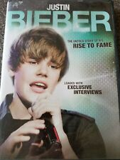 JUSTIN BIEBER, THE UNTOLD STORY OF HIS RISE TO FAME, DVD