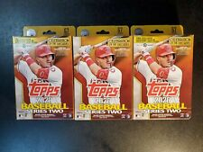 3 x Topps Series 2 2020 Baseball Hanger Box Sealed Auto and Relic FREE SHIPPING!