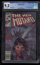 New Mutants 18 CGC 9.2 Newsstand First New Warlock