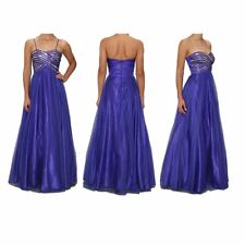 NEW Jump Apparel Junior Blue Evening Formal Prom Pageant Gown Dress, Size 7/8