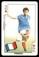 Dandy Gum World Cup 1986 - Two of Diamonds J. Tigana (France)