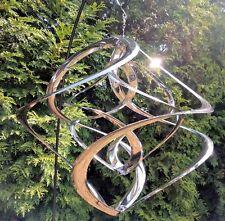 Windspiel Hurricane L Edelstahl Rostfrei Entmagnetisiert Garten Deko Balkon