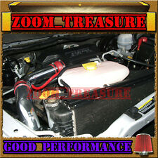 RED 2002-2010/02-10 DODGE RAM 1500/2500/3500 3.7 3.7L 4.7L 5.7L COLD AIR INTAKE