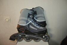 Roll Skate in line Tecnica Size 39,5 Skate Uk 6 Abec 3 Be + Cover Lange