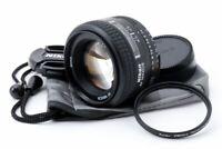 Nikon AF Nikkor 50mm f/1.4 D Prime Lens w/Filter /Caps [Exc++] from Japan #11966