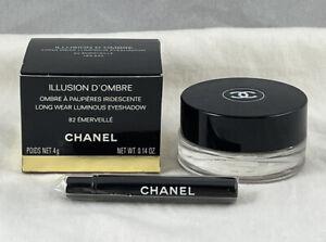 Chanel Illusion D'Ombre Long Wear Luminous Eyeshadow ~ 82 EMERVEILLE ~ .14 Oz