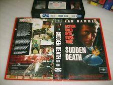 SUDDEN DEATH:JEAN-CLAUDE VAN DAMME Rare 1995 Australian Universal CIC Vhs Issue