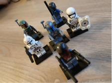 6 pcs /set Minifigures Star War Mandalorian JANGO Darksaber Trooper Lego MOC