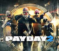 Payday 2 - Steam Key - REGION FREE - FAST DELIVERY - Bonuses