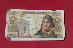 100 Nouveaux Francs  Bonaparte du 4 - 2 -1960   !