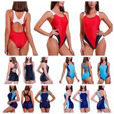 Women's Swimming Costume One Piece Monokini Sports Triangular Swimsuit Swimwear
