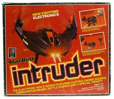 Vintage 1970's MB Electronic Star Bird Intruder Space Raider w/Box Works