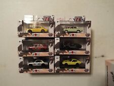 M2 MACHINES AUTO JAPAN COMPLETE SET 6, WALMART EXCLUSIVE IN DISPLAY BOX,