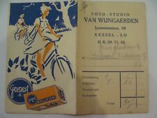 Studio-Photo VAN WIJNGAERDEN - Leuvensestraat, 59 - KESSEL-LO - Pochette Négatif