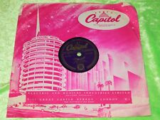 VICKI YOUNG : Honey love - Original 1954 UK 78rpm Capitol CL14144