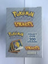 Pokemon Stickers Series 1 Original 1999 Full Retail Display Box Artbox NEW