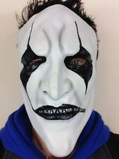 Jim Raíz Estilo Slipknot Máscara Látex Heavy Metal Halloween Blanco y Negro Cara