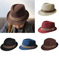Baby Hat Baby Cap For Children Hat Jazz Cap For Boy Girls Beach Sun Hat